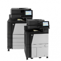 HP Color LaserJet flow MFP M880